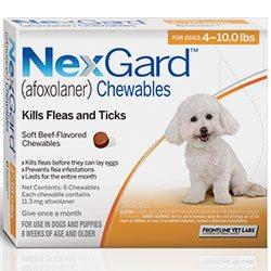 Nexgard for flea treatement
