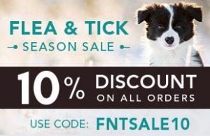 Flea & Tick Season Sale!