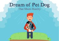 Dream of a pet Dog that meets reality