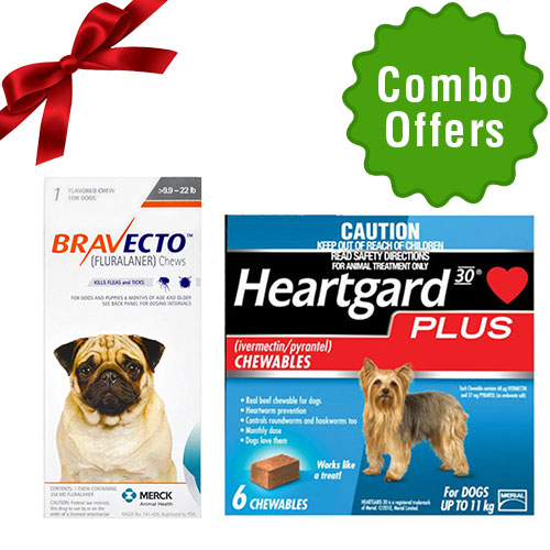 Bravecto + Heartgard Plus for Dog